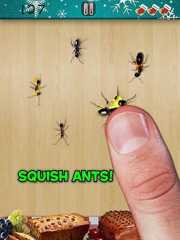 Ant Smasher Noël - Un jeu gratuit par Best, Cool  pour mac