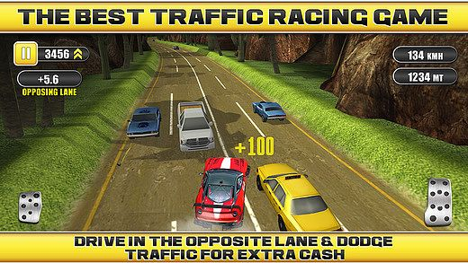 t l charger traffic racing rivals gratuit jeux de voiture de course. Black Bedroom Furniture Sets. Home Design Ideas