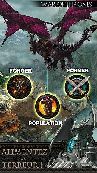War of Thrones - Le nouvel ordre des Dragons et chevaliers pour mac