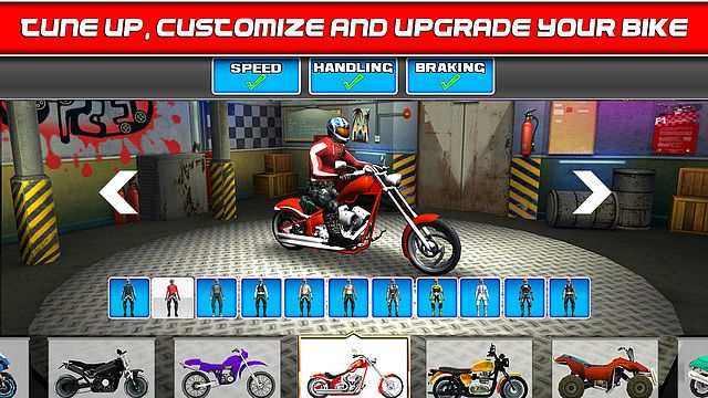 t l charger bike traffic race mania gratuit jeux de voiture de course. Black Bedroom Furniture Sets. Home Design Ideas
