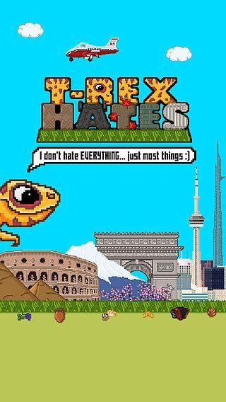 T-Rex Hates pour mac