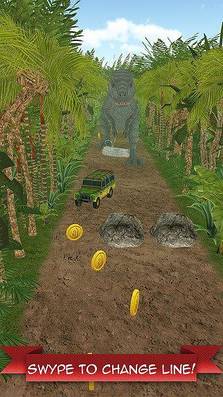 T-Rex échapper - Dinosaure Jurassique Course pour mac