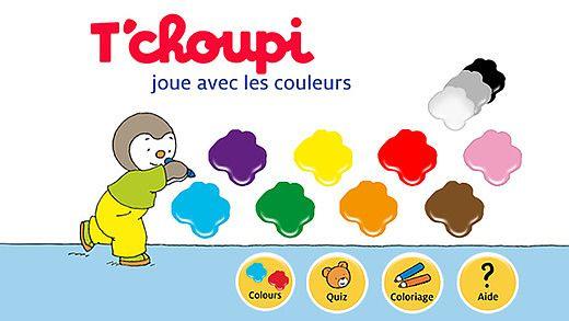 T'choupi  - Joue avec les couleurs pour mac