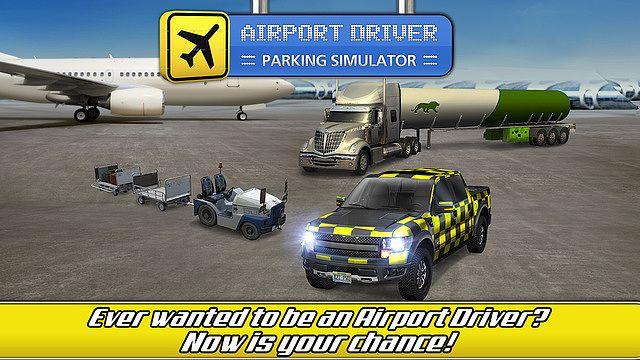 t l charger airport trucks car parking simulator gratuit jeux de voiture d. Black Bedroom Furniture Sets. Home Design Ideas