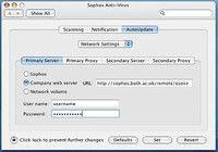 Sophos Antivirus pour Mac pour mac