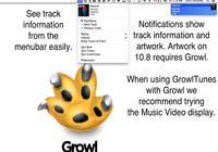 GrowlTunes pour mac