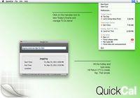 QuickCal pour mac