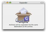 Stuffit Expander pour mac