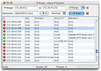 Angry IP Scanner pour mac