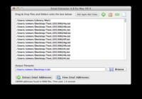 eMail Extractor pour mac