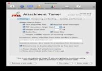Attachment Tamer pour mac