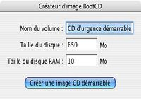 BootCD pour mac
