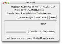 Disc Burner pour mac