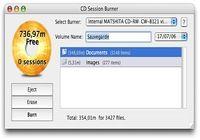 CD Session Burner pour mac