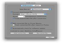 CosmoPod pour mac