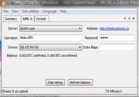 GUIMiner pour mac