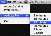 Caffeine pour mac