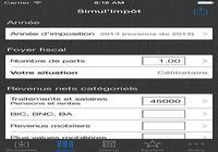 Simul'Impôt iOS pour mac