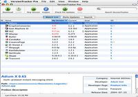Version Tracker Pro pour mac