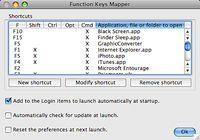 Function Keys Mapper pour mac