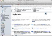 EagleFiler pour mac
