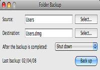 Folder Backup pour mac