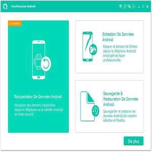 RÉCUPÉRATION TÉLÉCHARGER DONNÉES GRATUITEMENT DE FONEPAW IPHONE