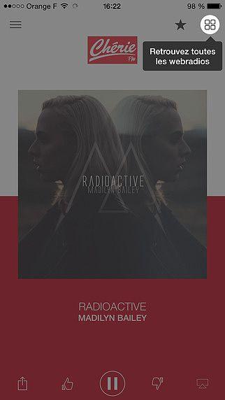 Chérie FM Radio pour mac