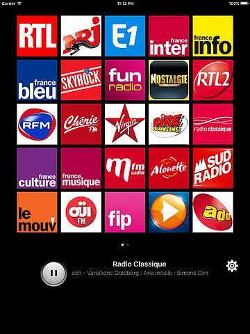 Radios France pour mac