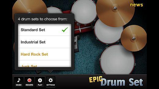 Epic Drum Set pour mac