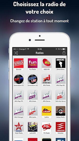Radios : Ecoutez de la musique gratuite avec les plus grandes ra pour mac