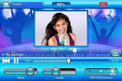 Disney Spotlight Karaoke pour mac