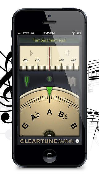 Cleartune - Chromatic Tuner pour mac