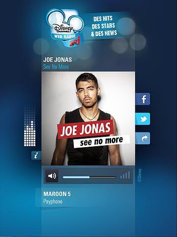Web Radio Disney Channel avec NRJ pour mac