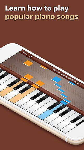 Grand Piano - Apprenez à jouer des chansons populaires sur un cl pour mac