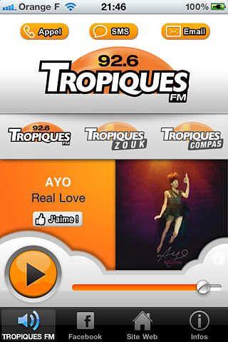 TROPIQUES FM pour mac