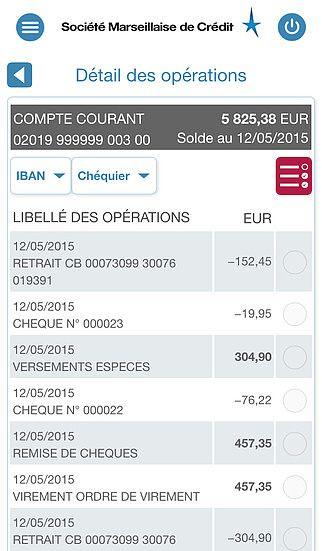 Société Marseillaise de Crédit pour iPhone pour mac