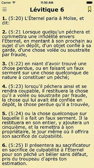 GRATUITEMENT SEGOND LOUIS TÉLÉCHARGER BIBLE LA
