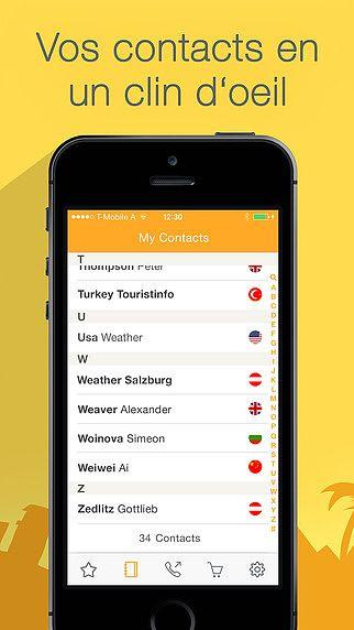 Appeler pas cher à l'étranger - premier appel gratuit avec toola pour mac