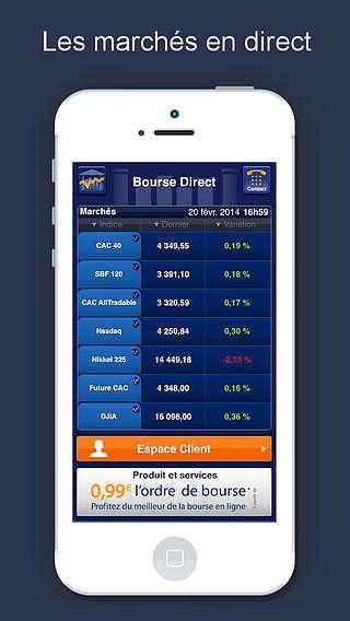 Bourse Direct pour mac