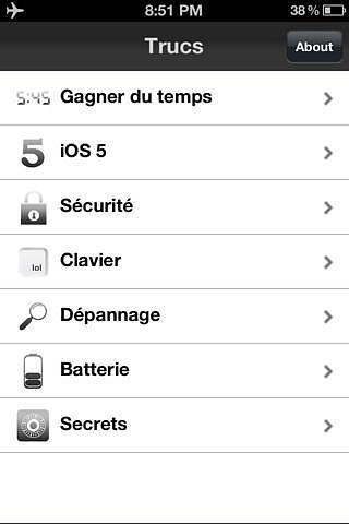 Trucs pour iPhone - Free Version pour mac