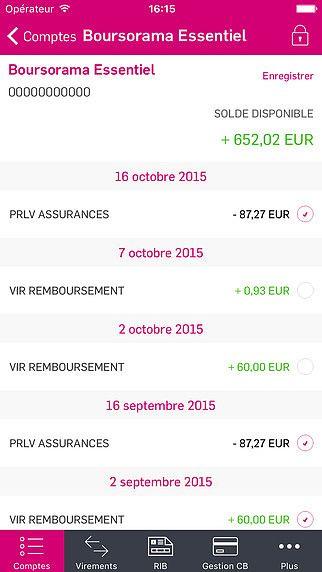 Boursorama Banque pour mac