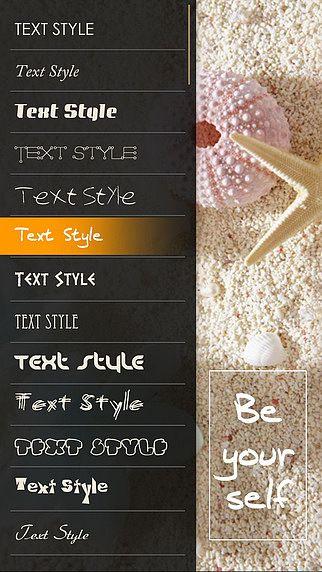 Texte sur Images - Ajouter du textes, Autocollants sur photos et pour mac