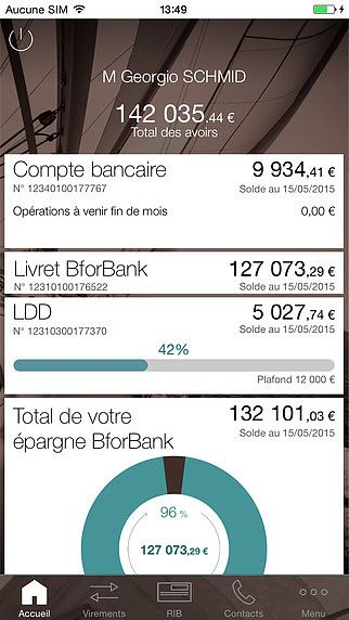 BforBank Banque mobile pour mac