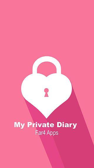 Mon journal intime pour les filles: Photo libre secret, vidéo, e pour mac