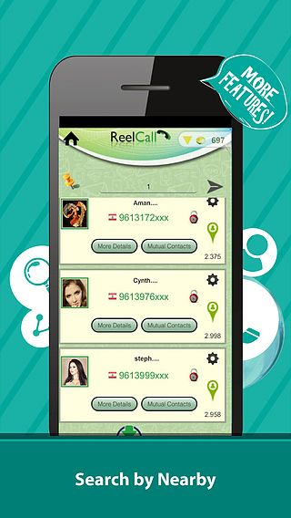Reel Caller :Caller réel , répertoire de l'annuaire téléphonique pour mac