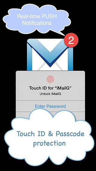 IMailG for Gmail with PUSH  pour mac