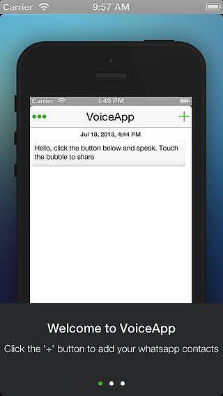 Voiceapp pour mac