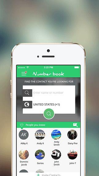 NumberBook Social pour mac