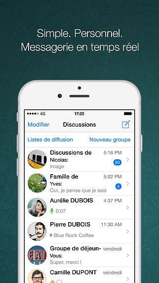 WhatsApp Messenger pour mac